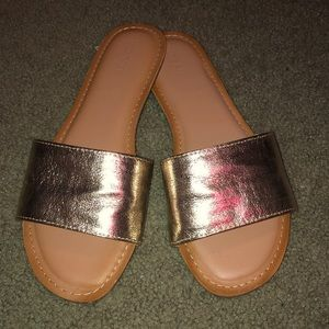Shoes - Old Navy Gold Sandals